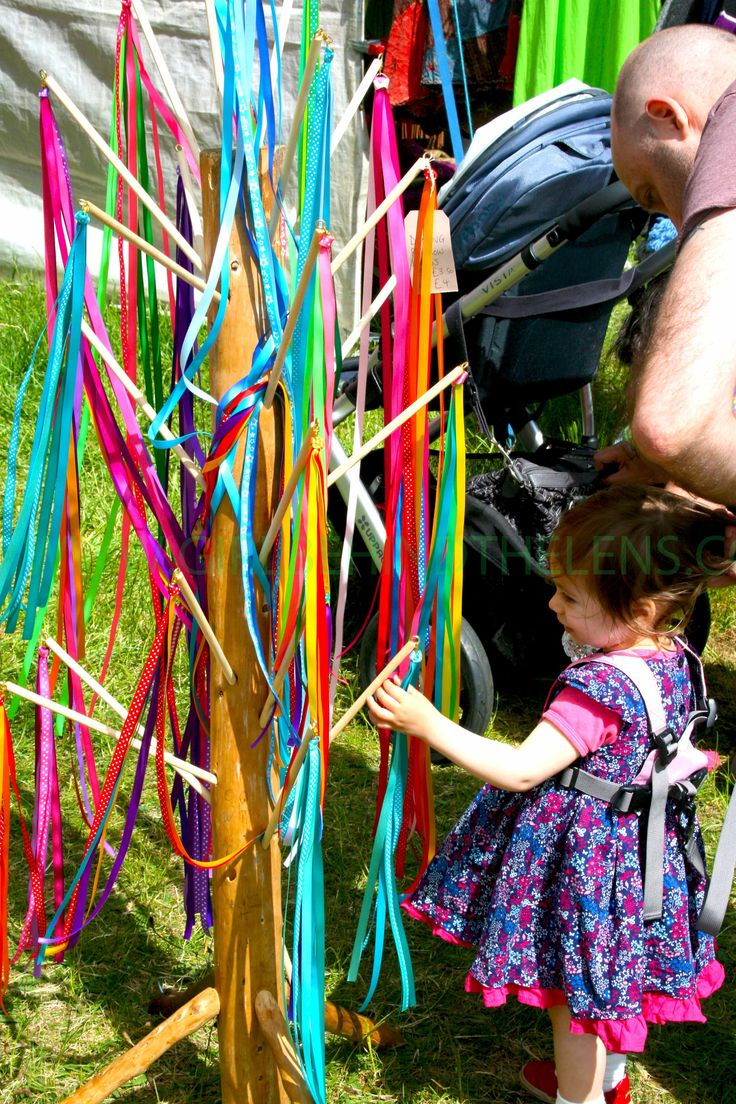 Glorious colours at Strawberry Fair, Cambridge UK (Summer 2015)