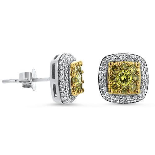 Yellow Diamond Earrings ~ #Capri #Jewelers #Arizona Offers ...