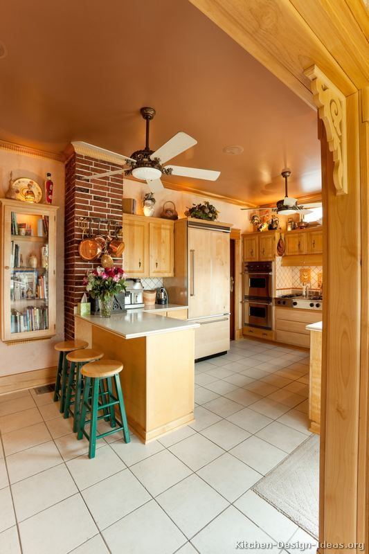 country kitchen design pictures and decorating ideas kitchen ceiling fanskitchen - Kitchen Ceiling Fan Ideas