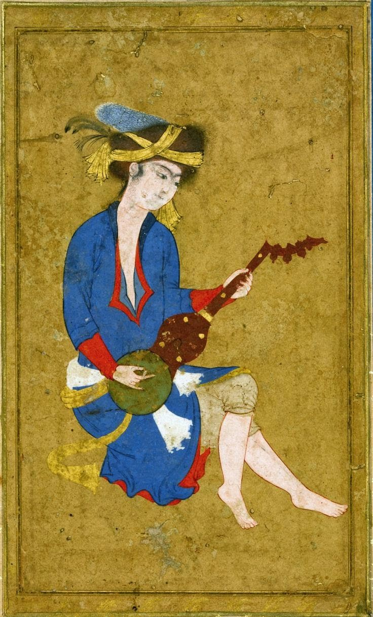 Islamic Persia: A youthful Musician