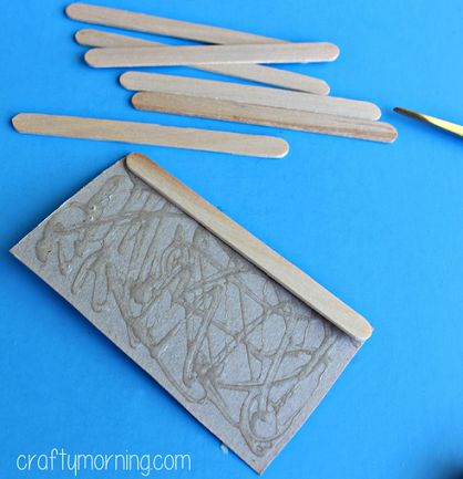 Popsicle Stick Frankenstein Craft for Kids to Make - Crafty Morning