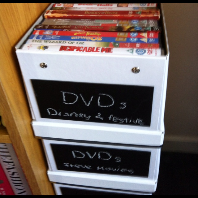 17 Best Images About Dvd Storage On Pinterest Organize