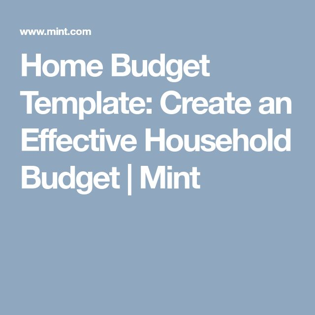 Best  Household Budget Template Ideas On   Family