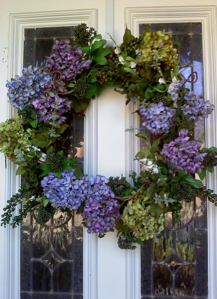Front Door Wreath Cute Crafts Pinterest