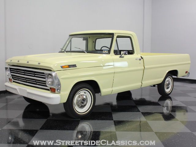 1968 Ford Truck Vin Decoder 1 - Ford F Six Cylinder Speed Manual In Original Meadowlark Yellow - 1968 Ford Truck Vin Decoder 1