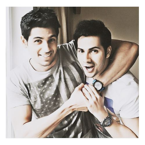 Siddarth Malhotra and Varun Dhawan