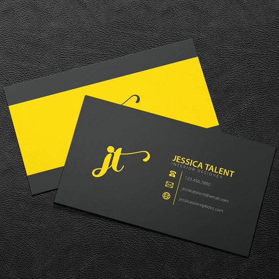 premade business card design print ready by brandileadesigns - Business Cards Design Ideas