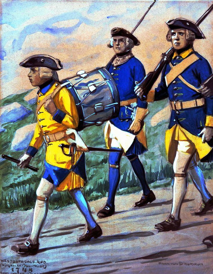 Swedish marines in combat | Napoleonic War Art | Pinterest ...