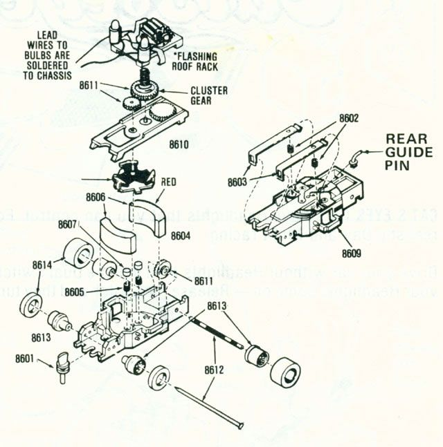 Aurora Slot Car Terminal Wiring Diagram : 39 Wiring