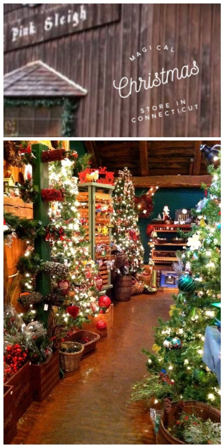 Travel | Connecticut | Only In Connecticut | Christmas Store | Attractions | Holiday Shopping | Christmas Decorations | Day Trip