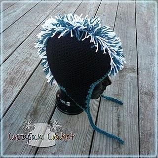 Mohawk Crochet Hat Pattern