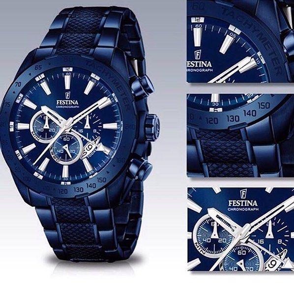 Festina Watch??  Prestige Blue! @FestinaWatch #festinawatch #Repost #ArgyleX @ArgyleX #watchesofinstagram #relojesespeciales #relojes #joyeriahema #cangas #relojesonline