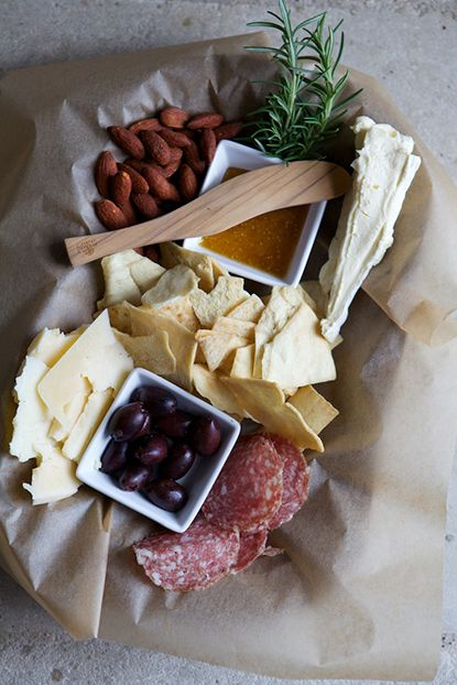 Photo Credit: Kate LeSuerur. <b>Round Top, TX:</b> An afternoon snack at Prost Wine Bar.