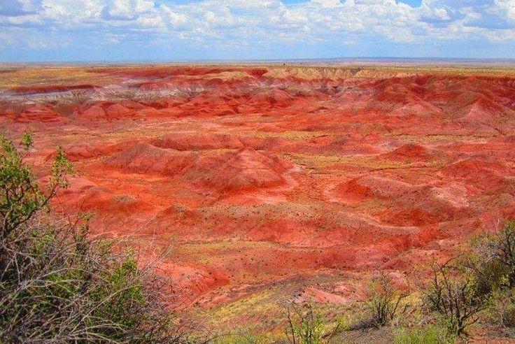 Painted Desert in Petrified Forest, AZ