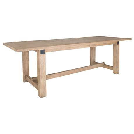 Estate Dining Table 260x100cm  Natural  $1899 on sale