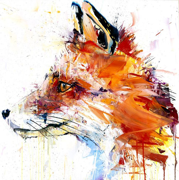 Fox by Dave White SOLD Giclee with Silkscreen  Signed Limited Edition of 50 76cm x 76cm - See more at: http://www.lawrencealkingallery.com/artists/dave-white/work/fox#sthash.Dm1mjOpS.dpuf