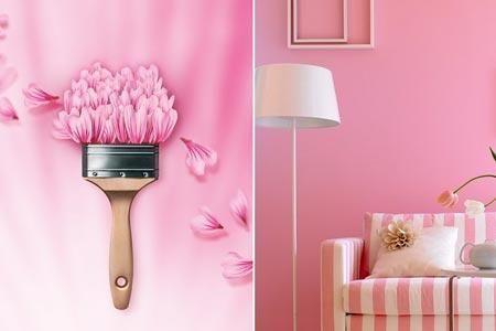 """Der Traum aller Prinzessinnen ist die Trendfarbe """"Malve"""". Dabei macht sich das zarte Rosa nicht nur im Kinderzimmer gut, sondern kann auch im Rest der..."""