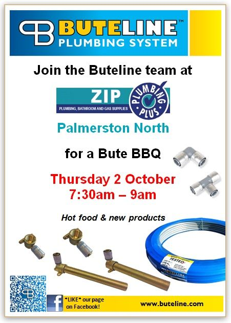 Bute BBQ @ Zips Palmerston North on Thu 2 Oct 2014