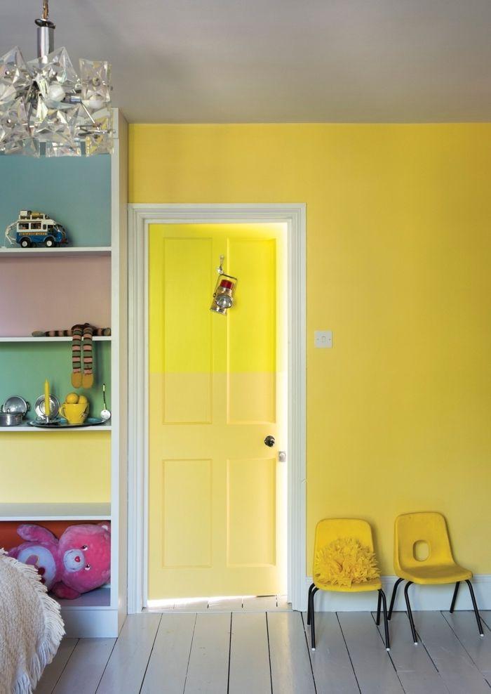 ▷ 1001 + idées originales comment peindre une porte intérieure ...