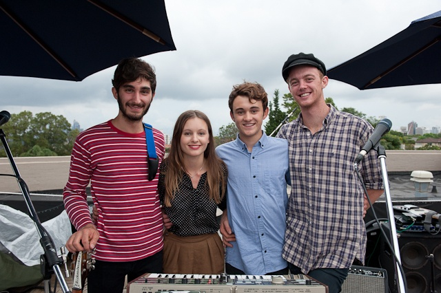 Photo Gallery: San Cisco Showcase - Alberts Rooftop (20.02.12)   the AU review