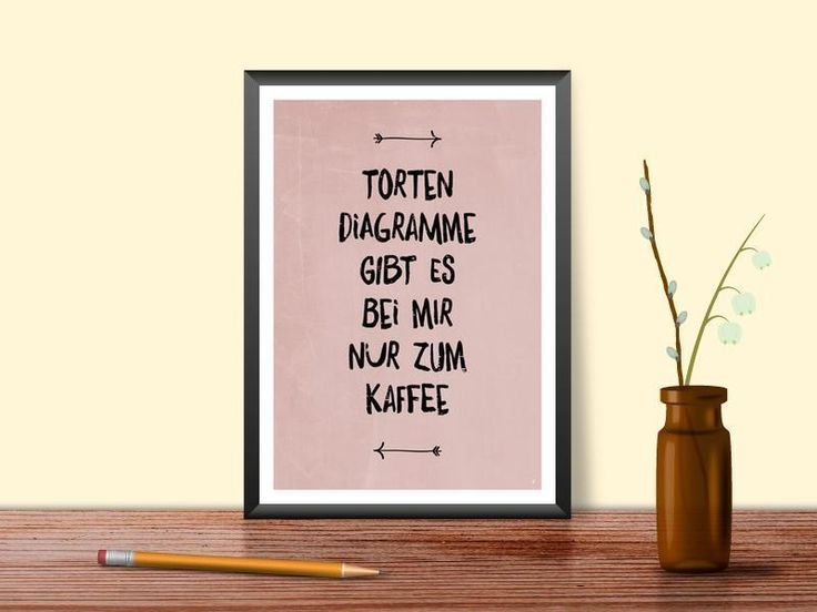 tortendiagramme+//+A4+Poster+von+Posterraum+auf+DaWanda.com