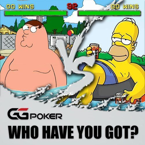 Both kings in their own castles but who takes it in a heads-up game? Homer with a Royal Sampler or Peter Griffin with his blank poker face? #royalsampler #worldofspringfield #springfield #simpsonsfamily #simpsons #homerjsimpson #petergriffin #familyguy #GGVersus #poker #pokerlife #griffins #drunkenclam #pawtucketpatriot #quahog #rhodeisland #thankyoucomeagain #yellow #giantchicken #garythenotrashcougar