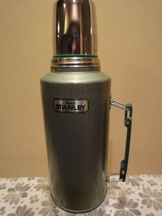 Vintage Aladdin Stanley Vacuum Bottle Thermos Stanley Half