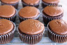 Southern Blue Celebrations: Texas Sheet Cake Cupcakes