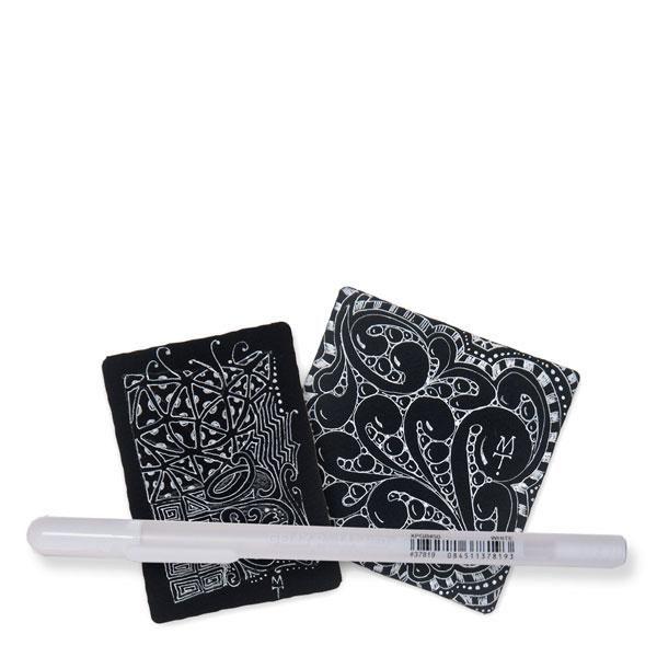 White Gelly Roll Pen