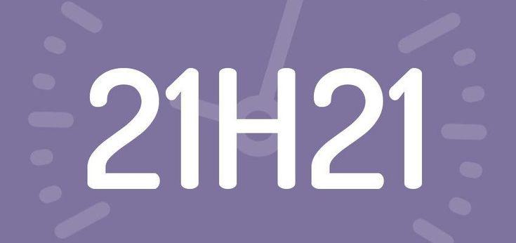 Significations Et Pr 233 Visions De L Heure Miroir 21h21