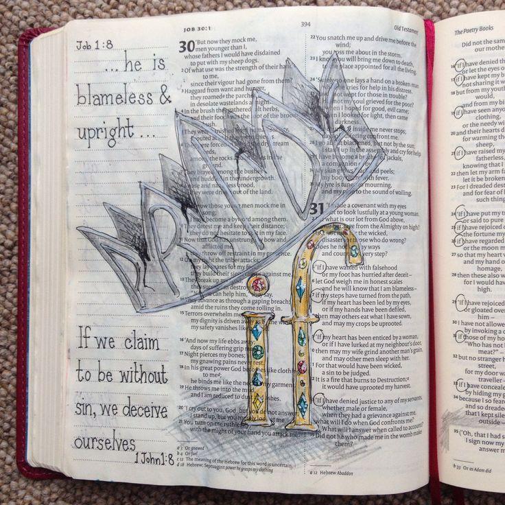 341 Best Bible Art Journaling Images On Pinterest