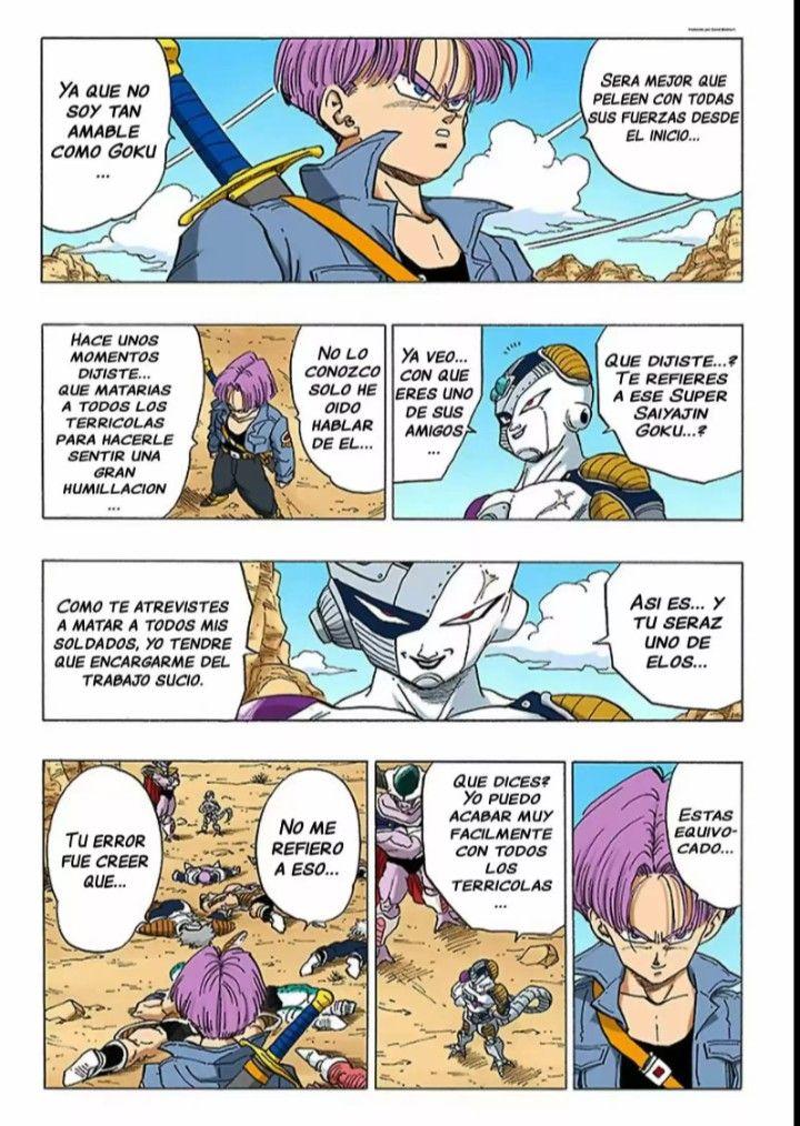 Dragon Ball Manga Full Color Espanol In 2021 Manga Dragon Ball Dragon Ball Z