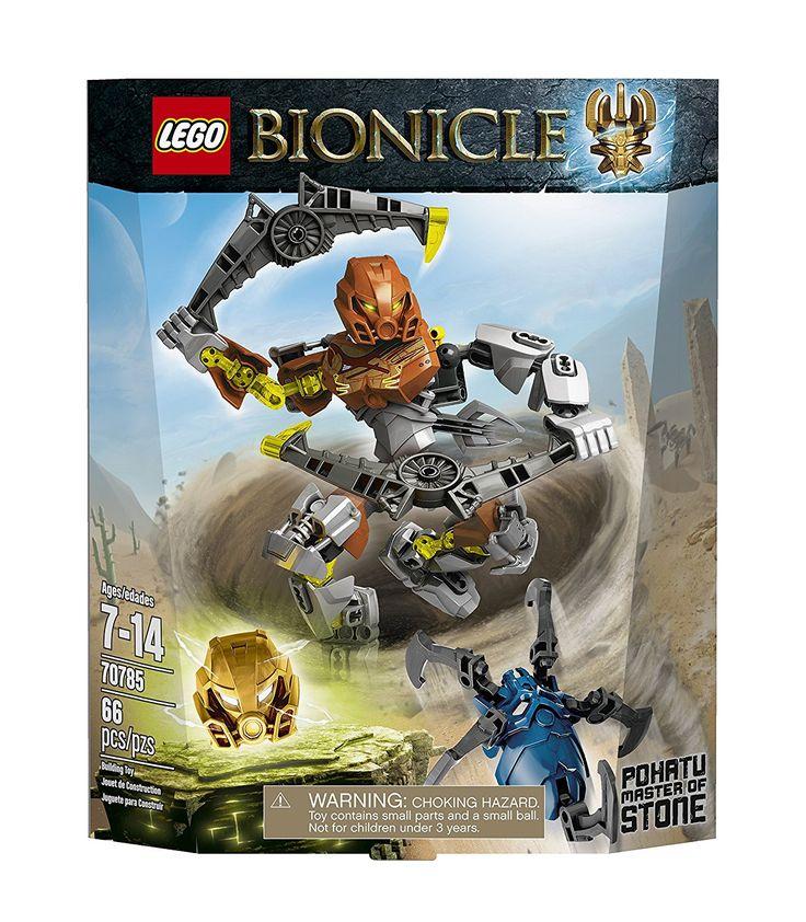 Amazon.com: LEGO Bionicle Pohatu - Master of Stone Toy: Toys & Games