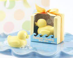 Cute Rubber Ducky Soap Christening Bomboniere