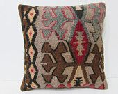 moroccan cushion cover 18x18 decorative pillow upholstery fabric stripe pillow cover tribal pillow couch throw pillow sofa pillow case 23841