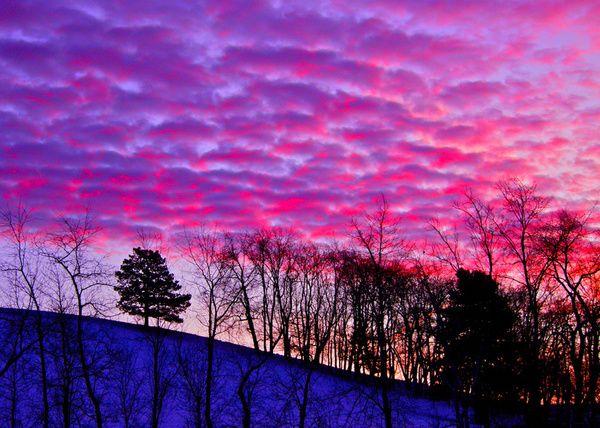 winter sunrise - Google Search