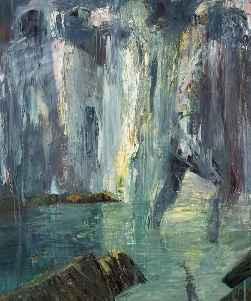 (4) Tumblr Euan MacLeod (Australian, b. 1956), Figures on Horizon, 2002.