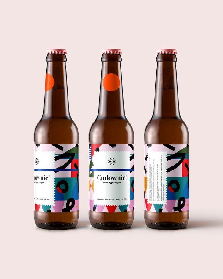 Different Approach to Polish Beer Label Graphic Design