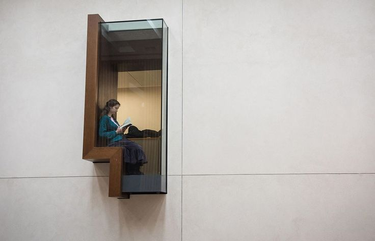 Weston Library - Picture gallery #architecture #interiordesign #people