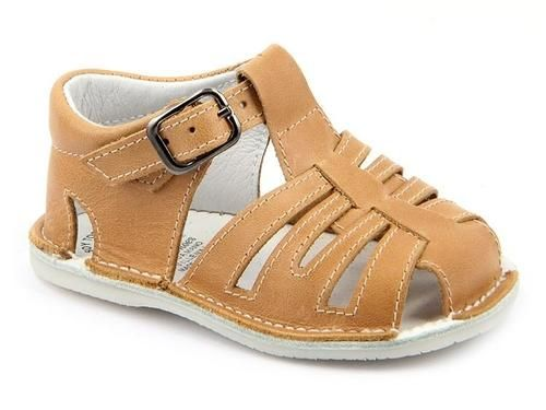 ca739cbf6 Casual Sandals Camel for Boys Leather Patucos – Condor السندباد ...