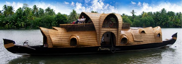 The Kettuvallam Houseboat of Kerala. http://www.biddingforgood.com/auction/item/Item.action?id=145185100