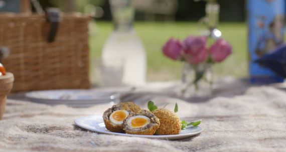 Mushroom scotch quail eggs from Mary Berry's Absolute Favourites