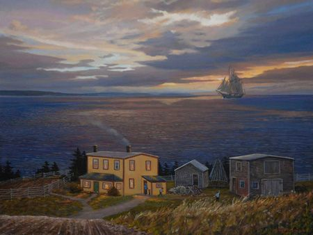 """Home from Labrador"" by Lloyd Pretty"