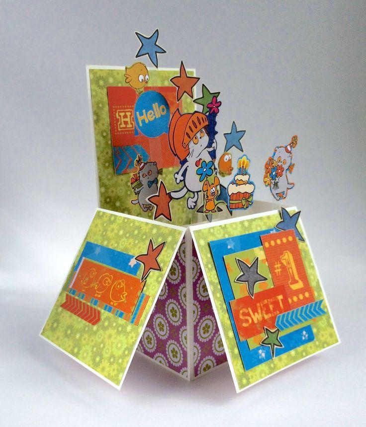 Детские открытки скрапбукинг в форме флажка, парню открытка смешные