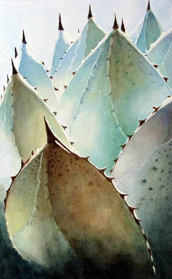 Century Plant by Jane Wong - Century Plant Painting - Century Plant Fine Art Prints and Posters for Sale