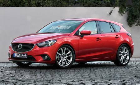 Next-Gen 2014 Mazda 3 Rendered, Detailed - Future Cars