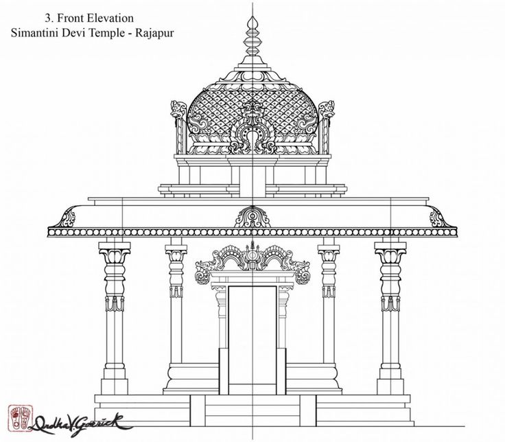 Front Elevation Architecture Of Market : Front elevation final india in pinterest