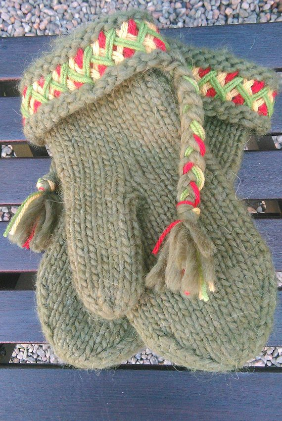 Mittens Swedish Lovikka mittens traditional by JezebelAdrian