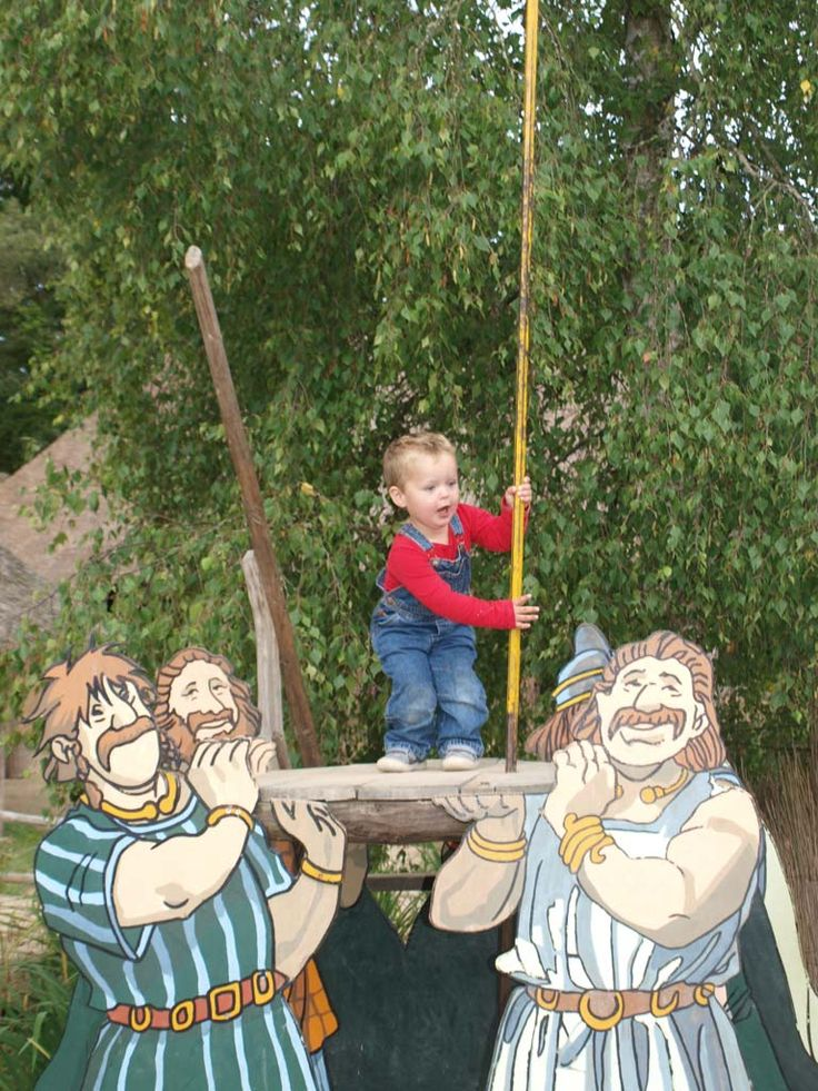 Tijdens je vakantie in Bretagne op bezoek bij de Galliërs in Le Village Gaulois.