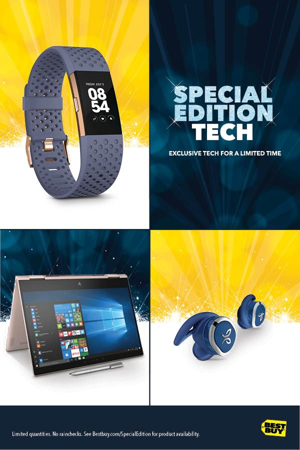 Headphones, Fitbit devices and Laptops—Best Buy is the only place to get exclusive makes and models. So if you're looking for holiday gifts you'll find nowhere else, we're your place. From wearables to headphones and laptops, we have the best selection. How do we know it's the best selection? Because our shelves are stocked with products no one else has. One-of-a-kind configurations, unique models, finishes you won't find anywhere. Shop our gift and holiday shopping ideas.